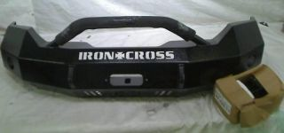 Iron Cross 22 425 11 Front Bumper with Push Bar Ford F250 350 450 $1 190 13