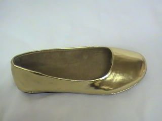 Girls Gold Ballet Flats MXT Toddler Sz 6