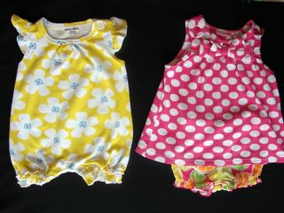 Huge Lot Baby Toddler Girl's Clothes NB 0 3 Months 3 6 Months Spring Summer