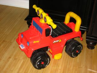 Toddler Power Wheels Jeep Junior Ride On
