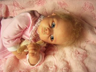 Lifelike Reborn Doll Cute Baby Girl 'Ellie' from Linda Murray 'Harry' Sculpt