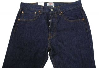 New Mens Indigo Blue Levi Strauss 501 Original Straight Leg Levis Jeans Various