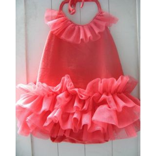 Baby Girl Sweet White Pink Princess Zebra Ruffle Tutu Romper Vest Dress 0 24M