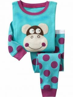 "Baby Toddler's Clothing Boys Girls Pajamas Sleepwear Kids Pajamas""Monkey""218"