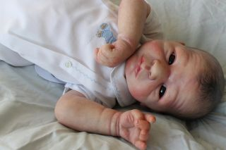 Beautiful Reborn Baby Boy Doll Lillebror Sam's Reborn Nursery