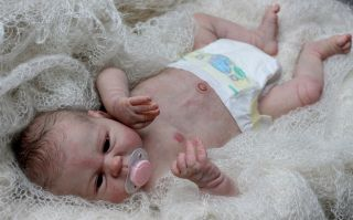 Beautiful Reborn Newborn Baby Girl Doll 'Seraphina' Sculpted by Elisa Marx