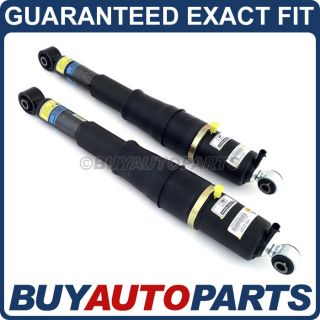 Pair Brand New Rear Air Ride Suspension Shock Absorbers for Chevy GMC Cadillac