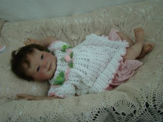 Heirloom Baby Nursery Reborn Baby Eliza Beautiful OOAK Adorable Baby Girl