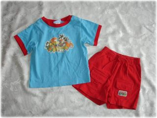 Nice Boys Walt Disney Mickey Mouse Outfit Set Sz 18 Mos