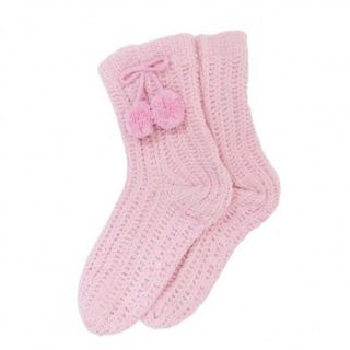 Free PNP Ladies Womens Chenille Non Skid Slipper Socks with Grip Winter