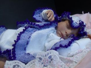 """Zuccherobambino"" Soft and Cuddly Reborn Baby Doll Logan by Cathy Rowland"