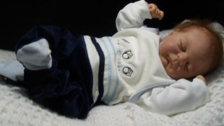 """Zuccherobambino"" Soft and Cuddly Reborn Baby Doll Julien by Eliza Marx"