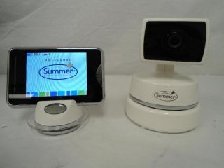 Summer Infant Baby Touch Plus Digital Color Video Monitor White 28520