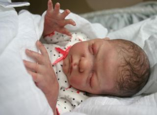 Reborn Micro Preemie Baby Sprout Laura Lee Eagles Baby Lil' Beans Doll Baby Girl