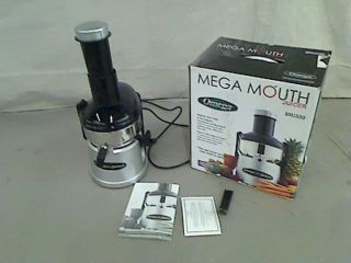 Omega BMJ330 Commercial 350 Watt Stainless Steel Pulp Ejection Juicer