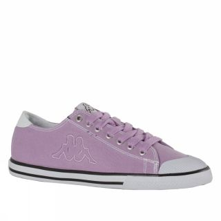 Kappa K Vulcanized Odell Melew 7 US Lilac White Trainers Shoes Mens Womens