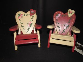 Barbie Furniture Lot Valentine Love Romance Wood Chairs Country Kitchen Picnic