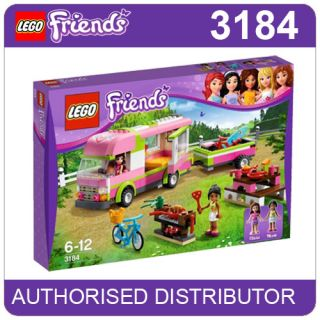 3184 Lego Adventure camper Girls Lego Friends Heartlake Age 6 12 309 Pieces
