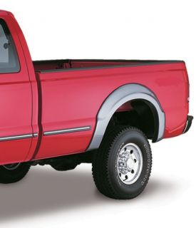 Bushwacker 20040 02 Rear M Blk OE Style Fender Flares for 99 07 Ford F250 350 SD