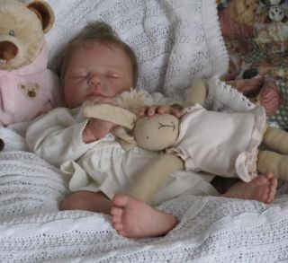 Doves Nursery ~ True to Life Newborn Reborn Baby Girl ~ Divine ~ Tamie Yarie