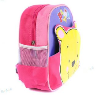 BP16 Baby Winnie Pooh Kids Child Polyester Backpack Book Bag