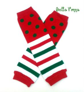 Baby Leg Warmers Holiday Christmas Snowflake Girl Boy Infant Toddler US Seller