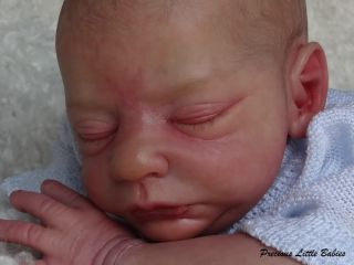 Precious Little Babies Reborn Newborn Baby Boy from Brayden by Nicole Russell