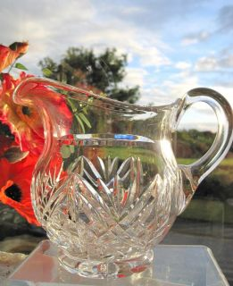 Cut Glass Water Pitcher