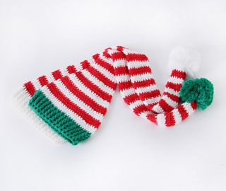 Cotton Baby Boy Girl Infant Unisex Christmas Hat Beanie Cap Santa Photo Prop
