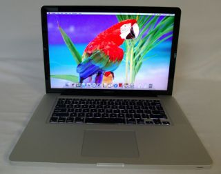 "Apple MacBook Pro 15"" Laptop Intel Quad Core i7 2 2 GHz 4GB 500GB MD318LL A 885909533503"