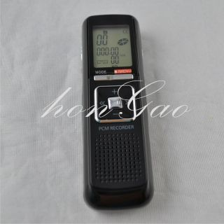 New 4GB Voice Activated Digital Audio Voice Recorder Dictaphone  Player Black