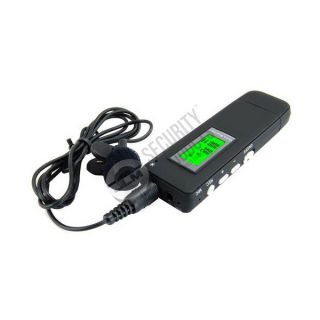 Voice Activated vor Digital Telephone Phone Room Audio Recorder Covert Spy Bug