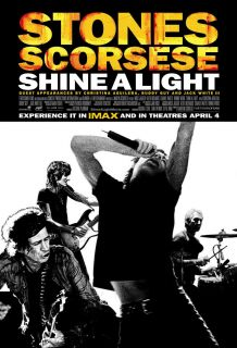 Shine A Light Mint Original 2008 1 Sheet Rolling Stones Documentary Scorcese