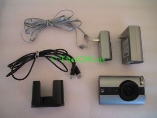 Logitech Wilife CRM CPS CLC 110i Digital Wireless Security Camera Master Kit