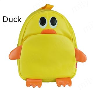 Cute Cartoon Schoolbag Animal Zoo Book Handbag Child Toddler Kids Boys Girls