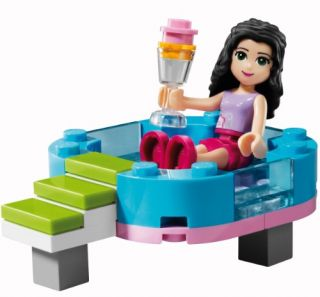 2012 Lego Friends 3931 Emma's Splash Pool NIB SEALED Girls Lego Great Gift
