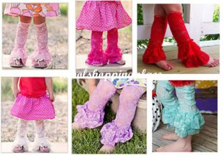 1pc Infant Kid Girl Baby Leggings Tights Socks Leg Warmers Stockings Ruffle Lace