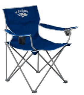 Nevada Wolf Pack NCAA Deluxe Folding Tailgate Chair by Logo Chairs