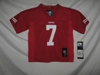 San Francisco 49ers NFL 2013 Colin Kaepernick Jersey $40 Red Toddler Size 2T