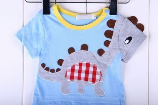1pc Newborn Baby Boy Kids Toddler Infant Dinosaur Dragon Romper Bodysuit Clothes