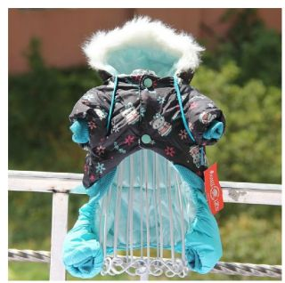 Autumn Winter 2013 Dog Clothing Coats Warm Cartoon Dog Jacket Sweater Clothes