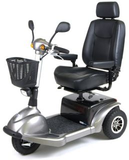 "Active Care Prowler 3310 3 Wheel Scooter Bariatric Heavy Duty Mobility 22"" Seat"