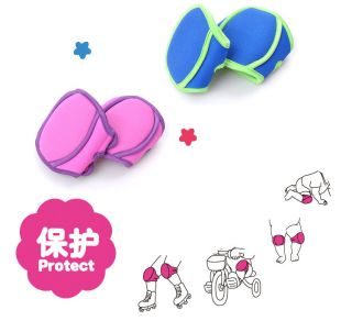 Baby Toddler Boy Girl Learning Walk Crawling Knee Elbow Pad Protector 2 Clolors