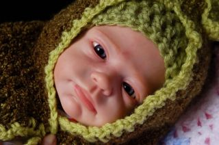 "Beautiful Reborn Baby Doll Nicky Was ""Mikki"" by Marita Winters 3 of 500"