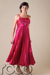 Cheap Girls Prom Dresses Girls Party Hot Pink Bridesmaid Dress Age 4 17 Years