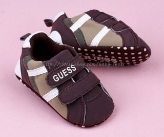 Toddler Baby Boy Crib Shoes Walking Sneakers Size 0 6 6 12 12 18 Months