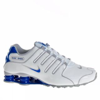 Nike Shox NZ US Size White Silver Trainers Shoes Mens New