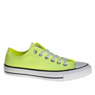 Converse All Star Ct Ox Neon US Size Lemon Yellow Trainers Shoes Mens Womens