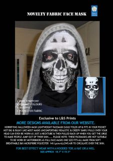 Halloween Robot Scary Full Face Mask Fancy Dress