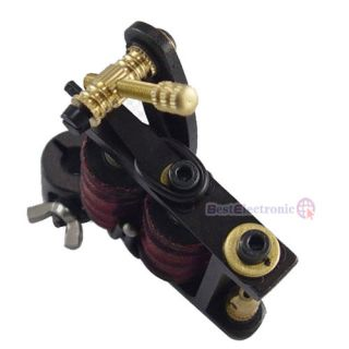 Handmade Master Tattoo Machine Liner Shader Gun 10 Coil